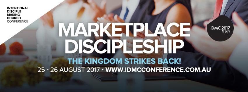 IDMC 2017 Marketplace Discipleship